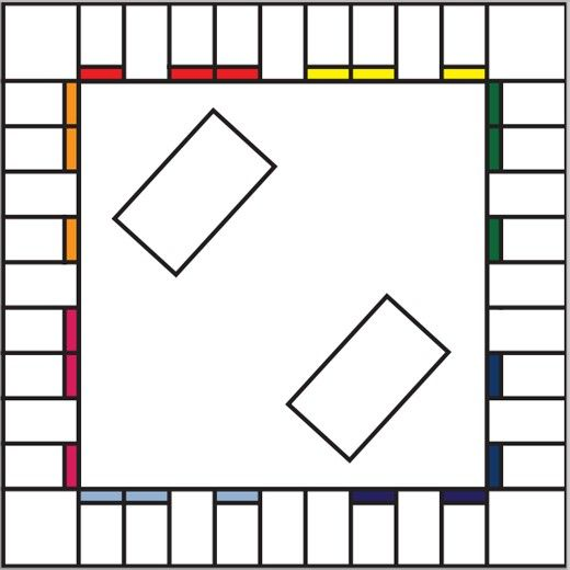 Blank Monopoly boards so you can make your own game using your own personalized theme.