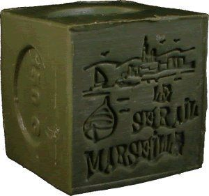 Savon de Marseille (Marseilles Soap) - Olive Soap Cube 150g - Handcrafted pure olive oil French soap by Le Sérail Savon de Marseille. $6.00. Pure, gentle and naturally moisturizing. Handmade by the last remaining traditional soapmaker in Marseilles - Savonnerie Le Serail. Free of sodium laureth/lauryl sulfate, phthalates, parabens, tallowate, synthetic fragrance or artificial coloring; 100% biodegradable; Not tested on animals. Part of our French soaps collection impo...