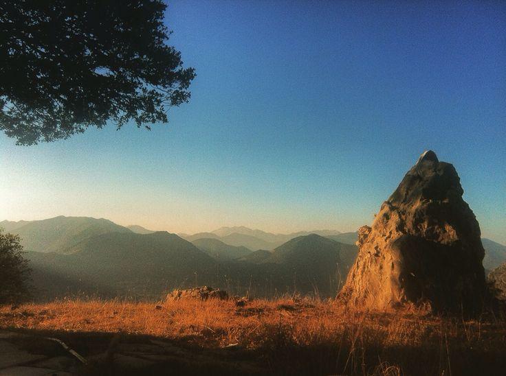 Mountain's light.