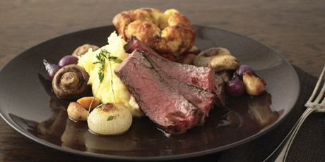 Prime Rib Roast with Horseradish Mashed Potatoes | Anthony Sedlak