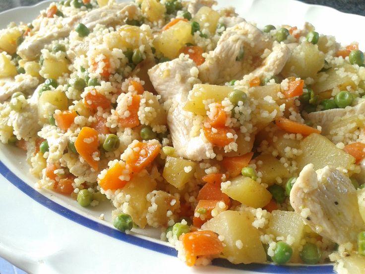 Couscous con verdure e pollo | Benessere e Gusto