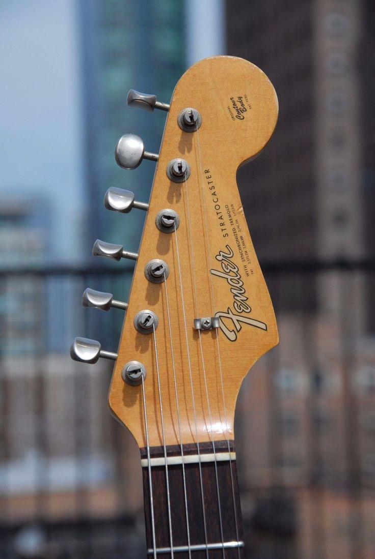 1965 Vintage Fender Stratocaster Sunburst Pre Cbs Model W