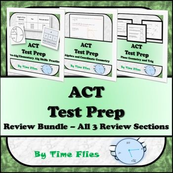 All three of my popular ACT reviews in one spot! To view each one individually…