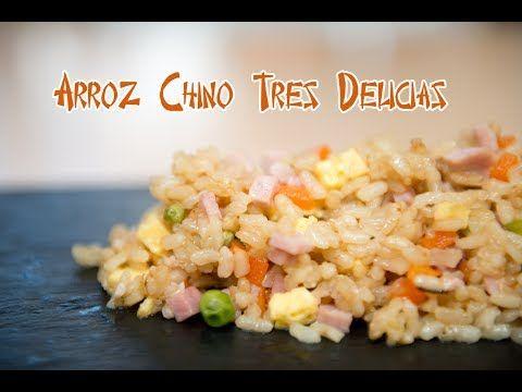 Arroz Frito Chino Tres Delicias - YouTube