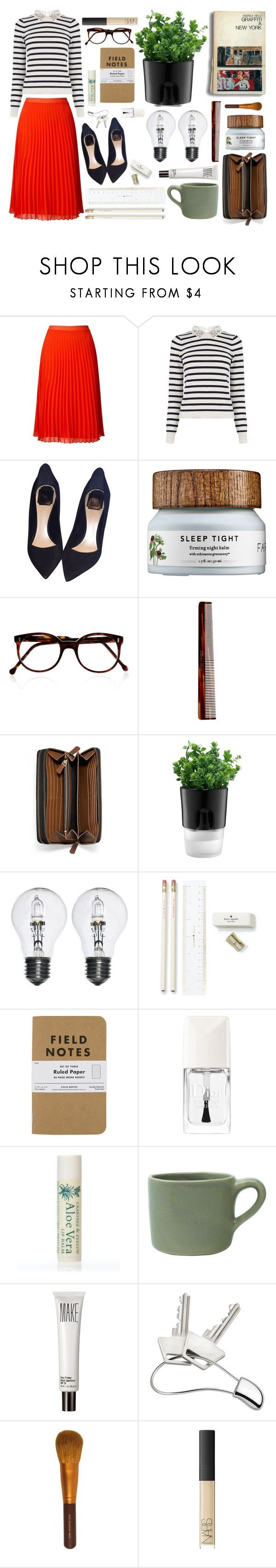 """""""Gå Med Dig"""" by freakoholic ❤ liked on Polyvore featuring Miss Selfridge, Oasis, Christian Dior, Cutler and Gross, Mason Pearson, Coach, Bodum, Kate Spade, Alöe and canvas"""