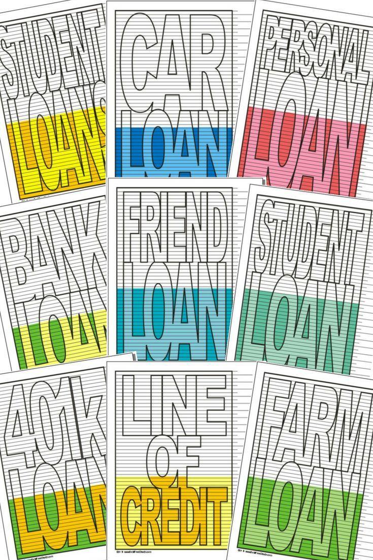 Free Loan Payoff Charts Debt Free Charts Student Loan Car