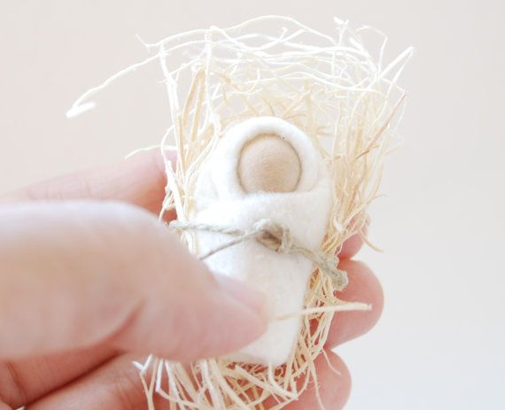 Baby Jesus Ornament, perfectly soft and sweet.