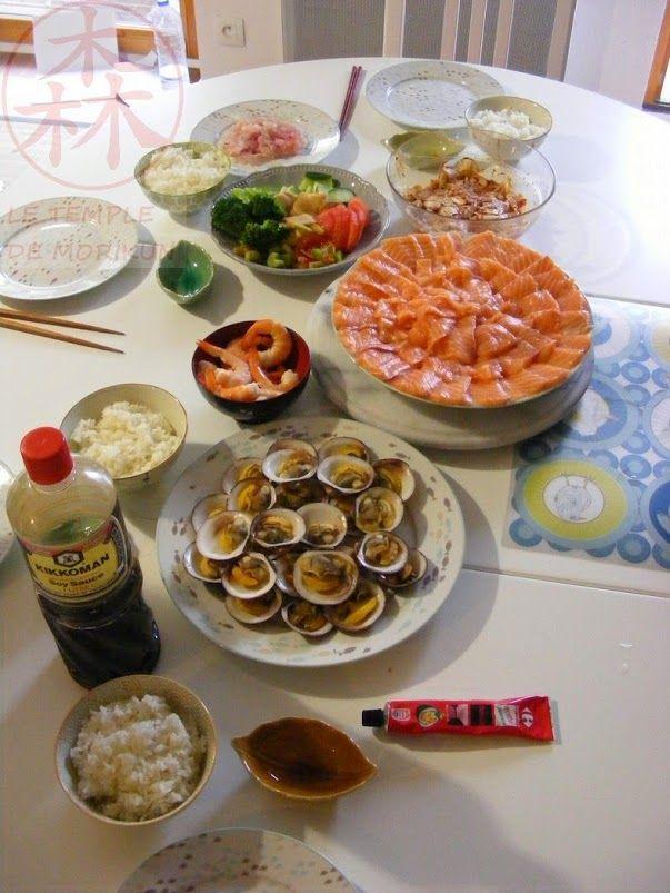 Repas japonais fait maison cuisine du temple for Fait maison cuisine