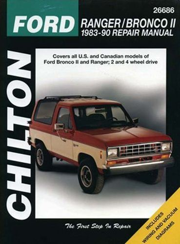 Ford Ranger & Bronco II Chilton Manual 1983-1990: Total Car Care is the most complete step-by-step… #CarParts #AutoParts #TruckParts
