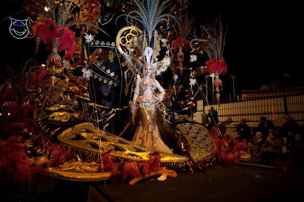 Paula Delgado in Carnival In Santa Cruz De Tenerife