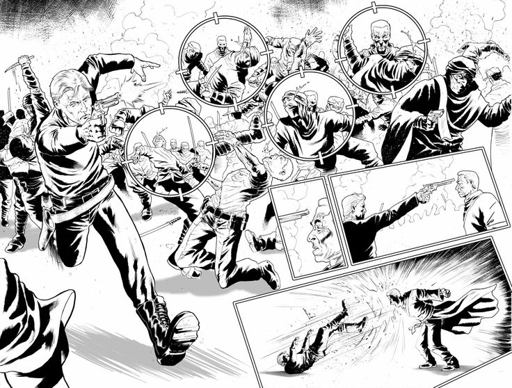 Justice Inc #4 pages 6-7