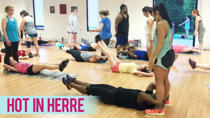 Nelly - Hot in Herre (Ab Workout) | Dance Fitness with Jessica