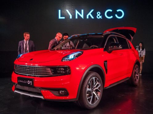 Lynk & Co, Geely's new digital age auto brand, rolled out its new 01 crossover. - Newspress