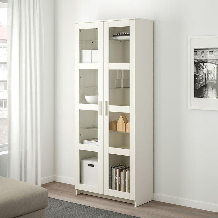 brimnes glass door cabinet white 31 1 2x74 3 4 ikea