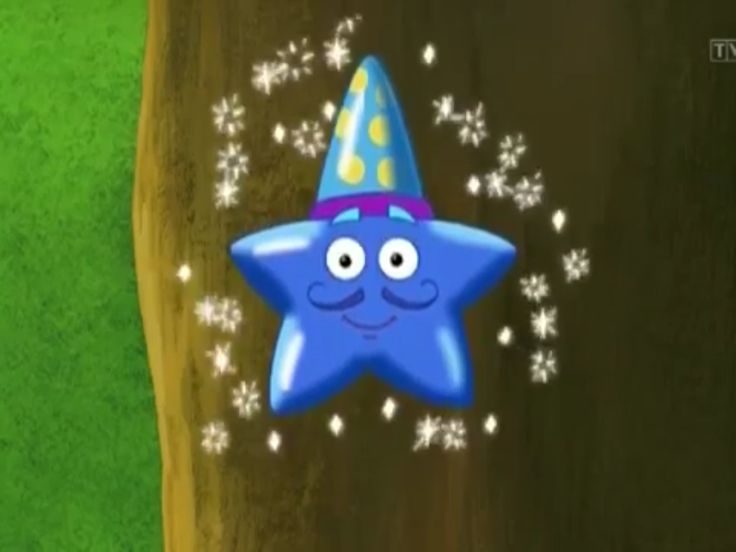 Magico the Star from Animal Adventures (DVD) on Dora the Explorer