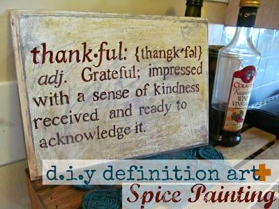 Thanksgiving Art Painting