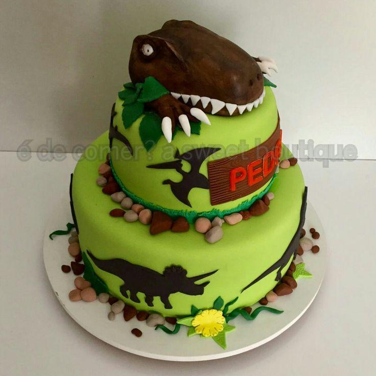 Bolo Dinossauro!