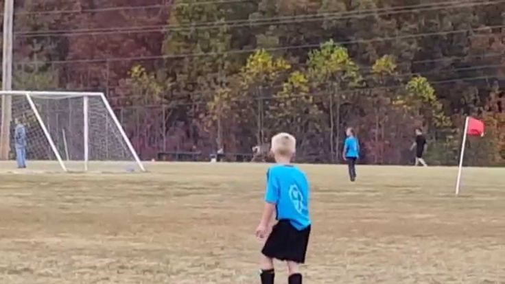 And of course deer love playing some soccer too!