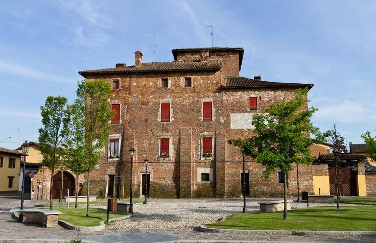Il #castello di Alagna. #storia #turismo #Lomellina