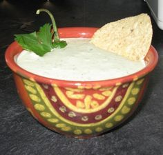 Creamy Serrano Ranch Dip Recipe: Like Chuy's Tex-Mex. Addictive!