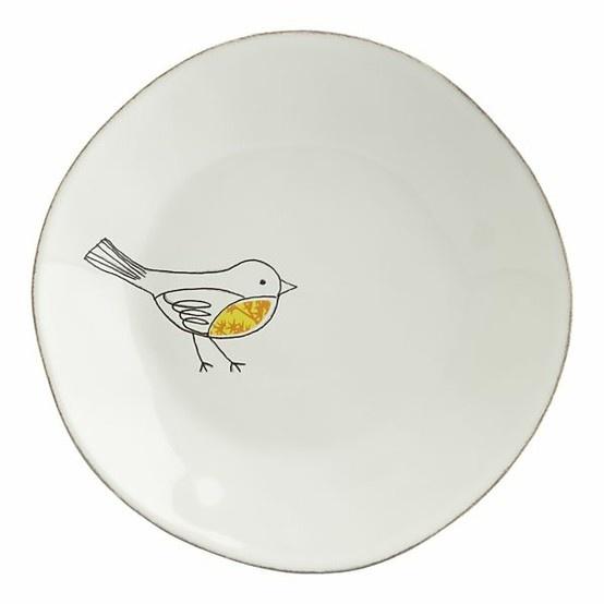 Bird Plate Happy Kitchen Pinterest Decorating And