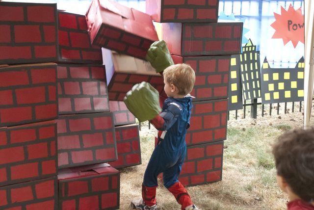 Hulk SMASH!!! I love it and I think Joshua will too!