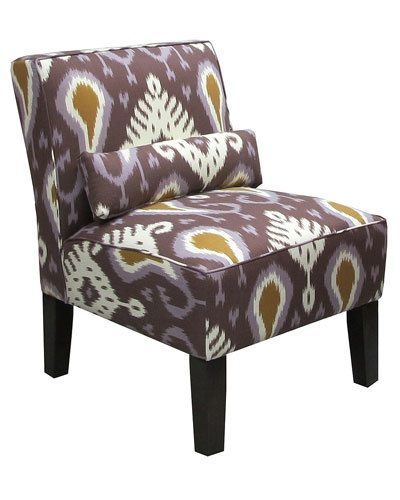 Purple Chair Chairs And Living Rooms On Pinterest