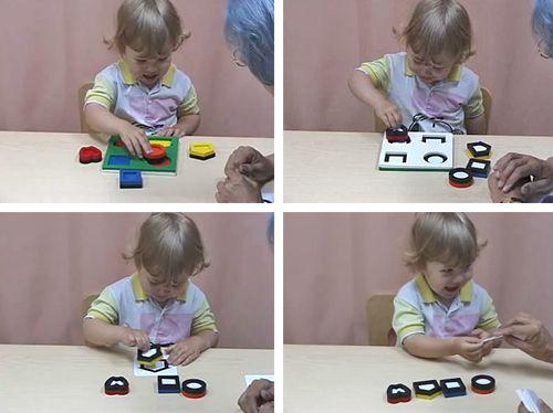 Videos of Dr. Lea Hyvarinen working with children.