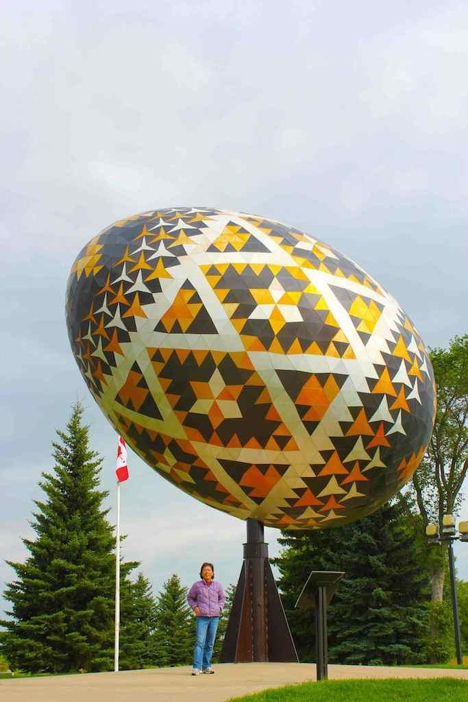 Easter Egg from Vegreville, Alberta, Canada