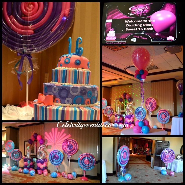 Candy themed centerpieces candyland decorations for