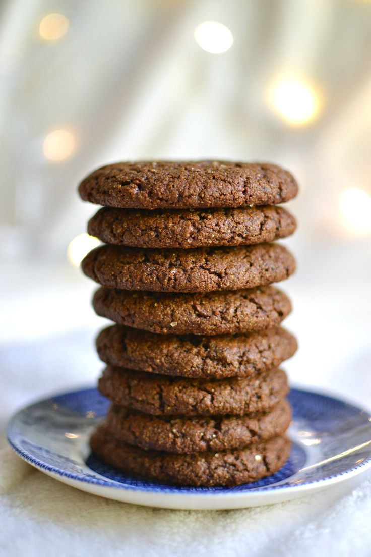 Vegan Gingersnap Cookies 4: