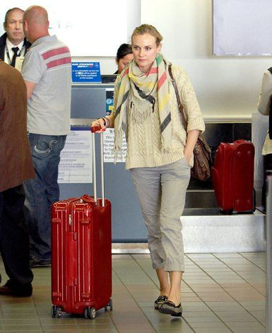Diane Kruger - Shop #RIMOWA at http://www.luggagefactory ...