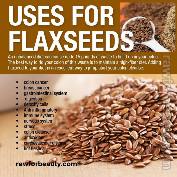Uses For Flaxseeds
