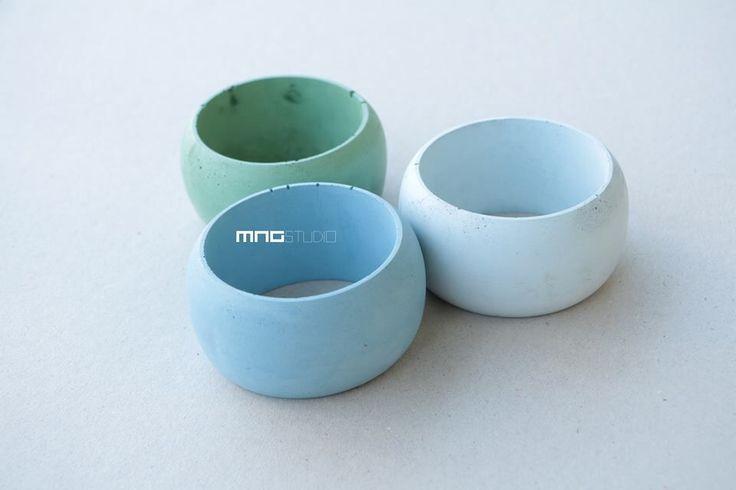 Concrete bracelet