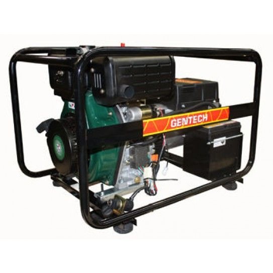 Powered by the British Lister Petter engine, this 3-phase generator will become a mainstay in the back of your ute or workshed. The effortless electric start is all you need to get this workhorse moving. It will deliver 6.8kVA and will run for 3 hours continuously, thanks to the 5-litre fuel tank and the legendary diesel economy. On top of that, you get 20 Amp 3 Phase outlets.