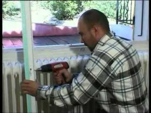 Pose d'une fenêtre PVC en rénovation :