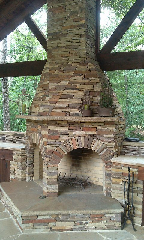 Double Sided Fireplace by Graves Lawn and Landscape  Rockwall Tx 469-721-2011
