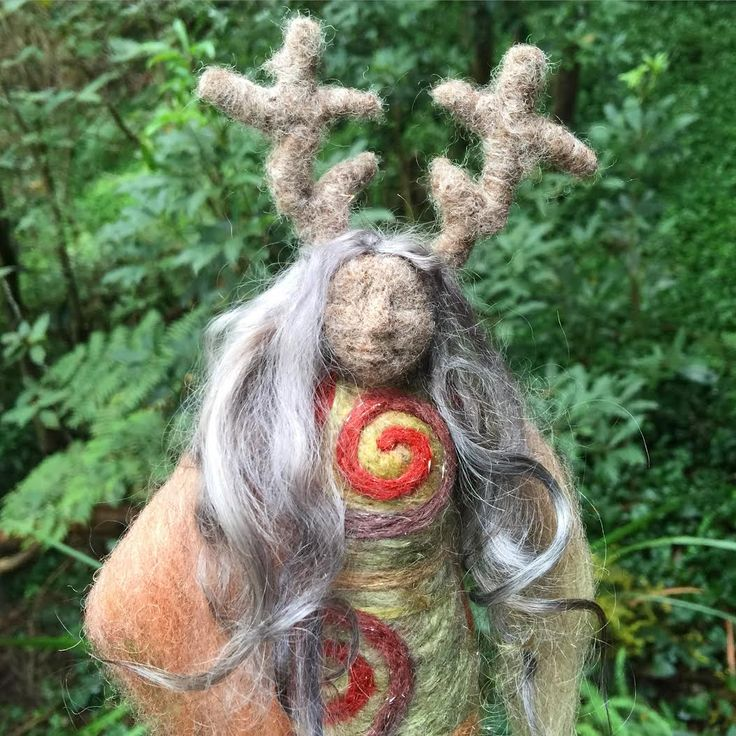 Sacred Familiar medicine doll - DeerWoman for the women of Dublin