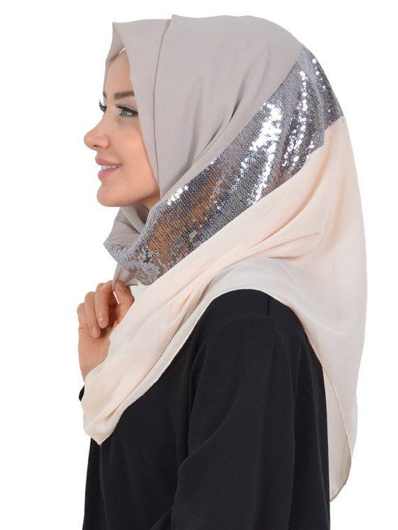 Shawl Code: AS-0010 Muslim Women Hijab Scarf by HAZIRTURBAN