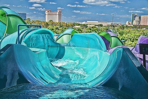Is this what heaven looks like schmow zow pinterest water slides water and swimming pools - Cool indoor pools with slides ...