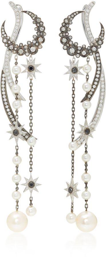 Colette Jewelry 18K Gold Diamond Earrings Colette Jewelry 18K Gold Diamond Earrings (Ad)