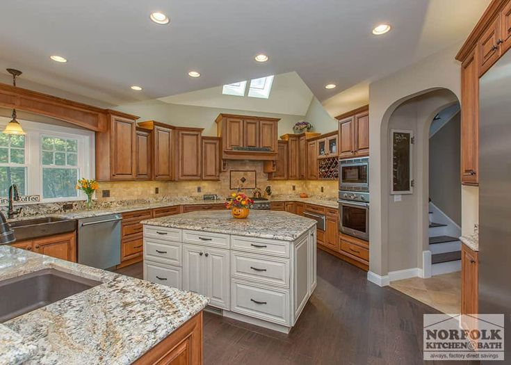 This Showplace kitchen was designed by Cathy from our Nashua showroom. This  traditional kitchen is