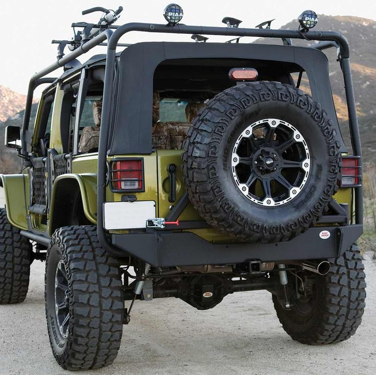 Jeep With Rack Google Search Automobiles Pinterest