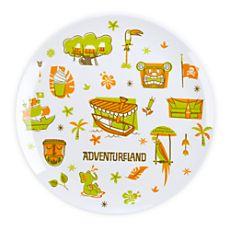 Adventureland Plate - 8''
