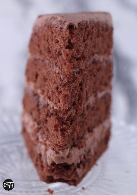 """C'est ma fournée !: Le """"Layer Cake"""" au chocolat"""