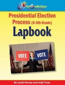 Presidential Election Process Lapbook Only $1.50 - Limited Time! | Free Homeschool Deals ©