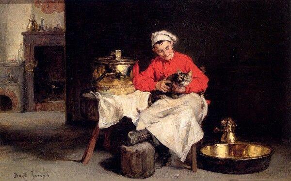 Joseph Bail, 1894, De kok