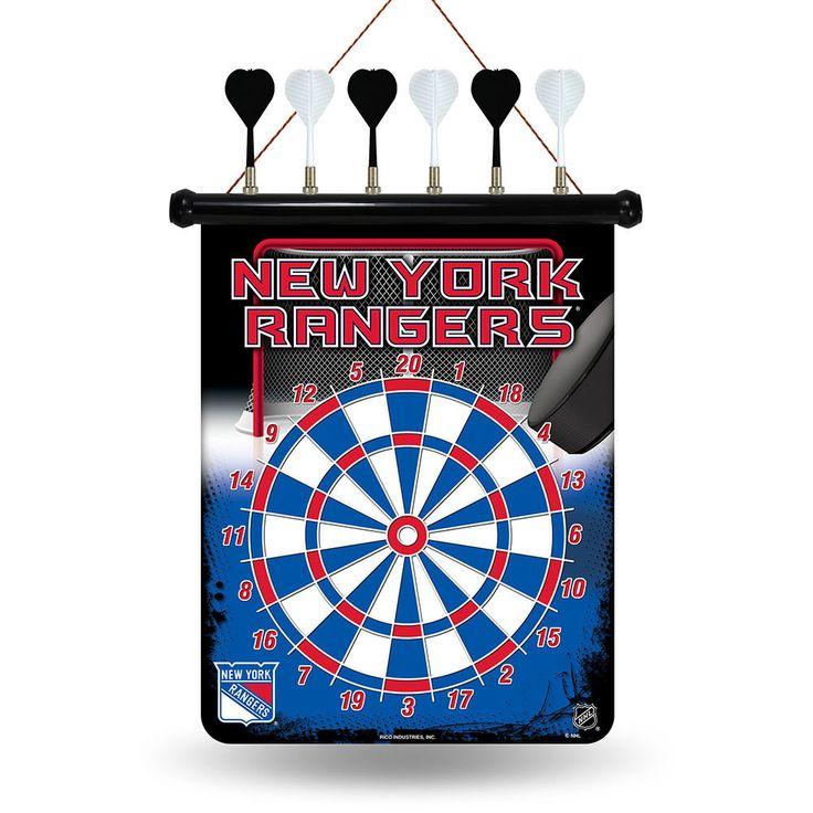 New York Rangers NHL Magnetic Dart Board