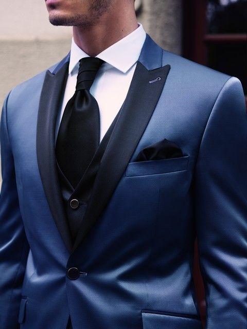 pansky oblek modry svadobny salon valery1