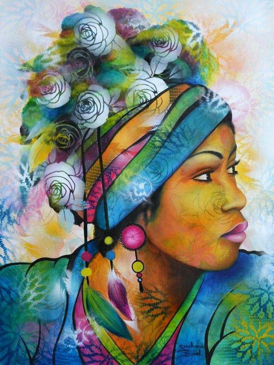 Fleur sauvage femme avec chapeau dans l 39 art woman with for Art et artiste